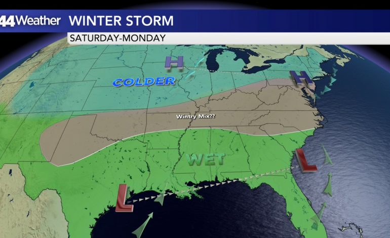 Front Brings Reinforcing Shot Of Cold…Weekend Winter Storm