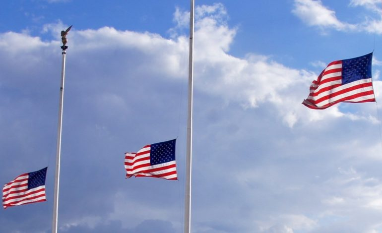 Flags in the Tri-State at Half-Staff for California Shooting