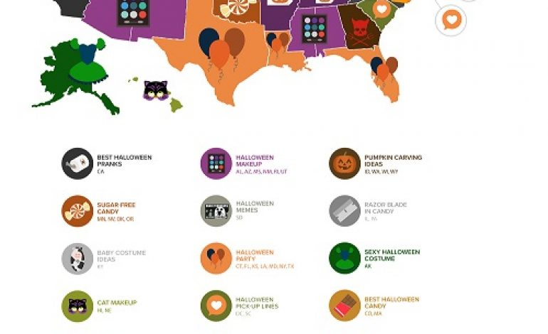 What Do States Google The Most During Halloween?