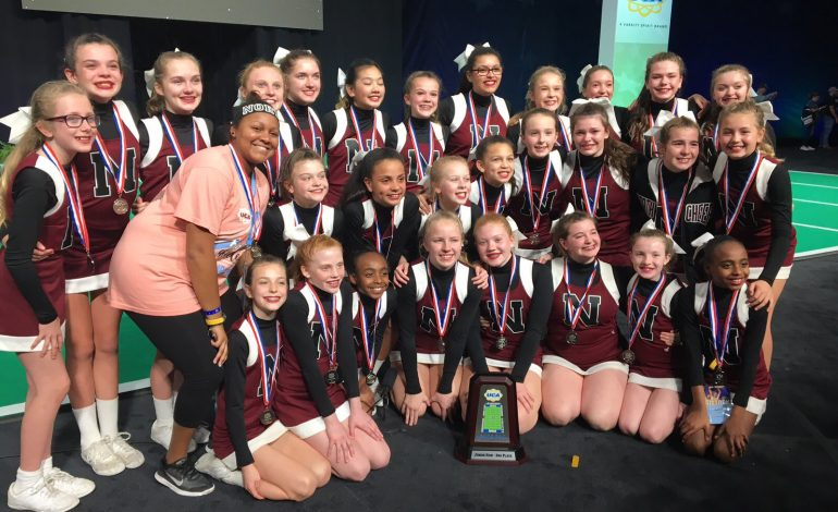 North Middle School Cheerleaders Win Second Place At UCA Nationals
