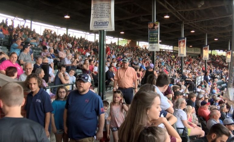Bosse Field at Capacity for 8-5 Otters Win