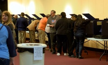 Evansville Voters Pack Washington Square Mall