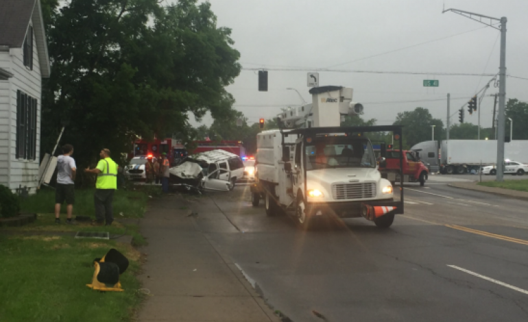 Washington Avenue At Highway 41 Closed In Evansville Due To Accident