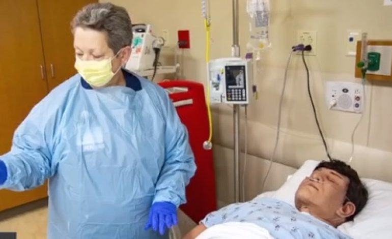 Simulated Patient Plays Key Role in Educating Health Staff