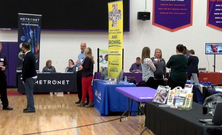Employers Connect With Potential Job Candidates At UE Career Fair
