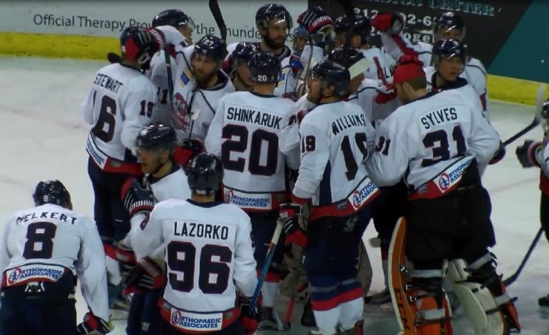 Thunderbolts Edge Mayhem in First Round of SPHL Playoffs