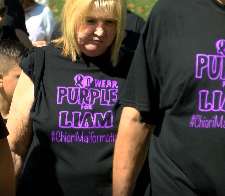 Supporters Walk Across Evansville To Conquer Chiari
