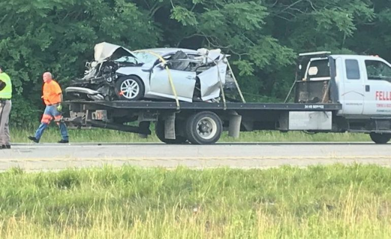 One person in critical condition after I-64 crash