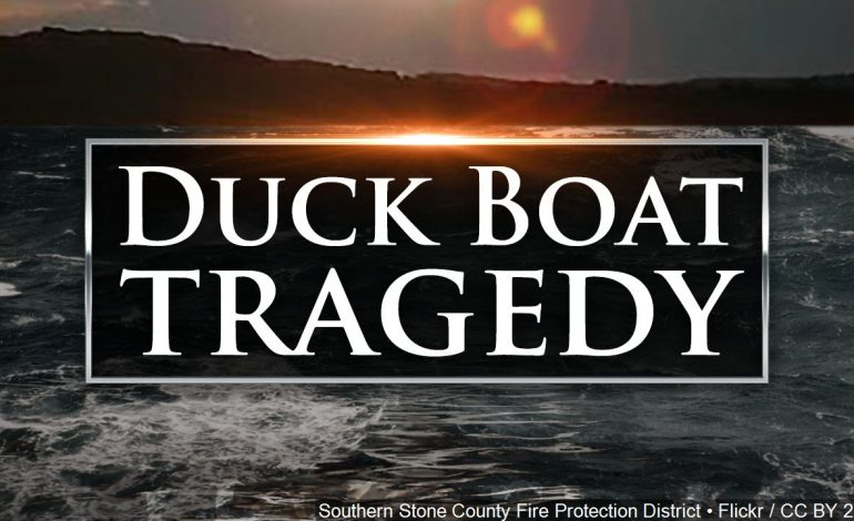Duck Boat Captain Indicted on 17 Felony Counts