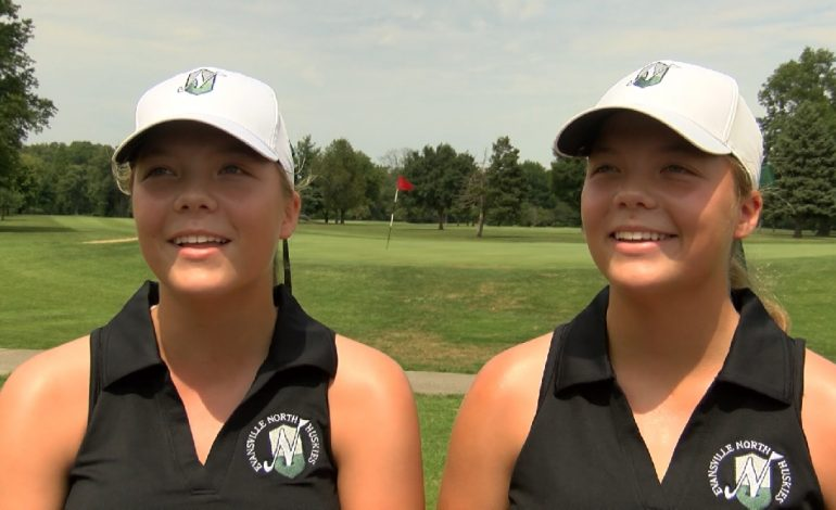 Double Trouble: Identical Twins Pace North Girls Golf