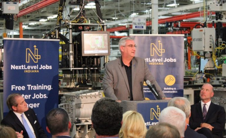 """Jobs, road projects focus of Gov. Holcomb's 2019 """"Next Level"""" agenda"""