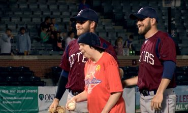 Otters, Jacob's Village Go to Bat for those with Disabilities