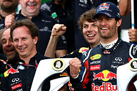 Super Sunday: Kahne, Franchitti and Webber win