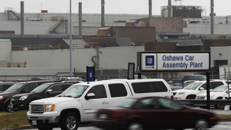 GM Canada to invest $1 billion in R&D at Oshawa plant