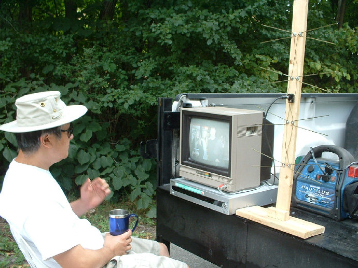 How to take your TV camping