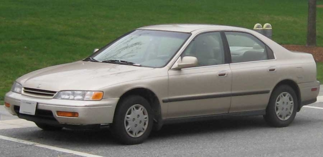 '94 Accord most-stolen in U.S. four years running