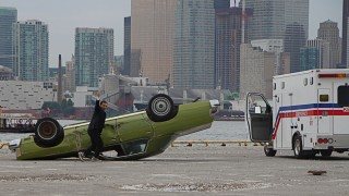 Still flipping for gold -- Figure Skater turns stunt driver
