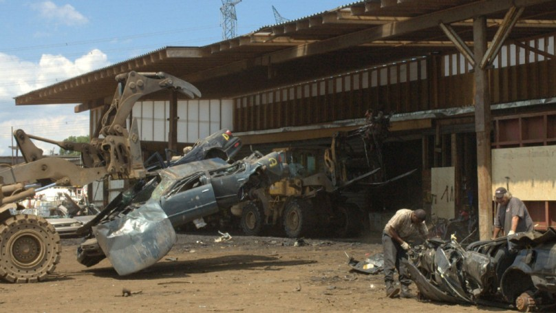 Scrap yard on scrap heap?