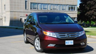 Honda Odyssey not handsome, but homey