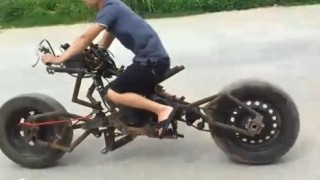 Insider report: Watch a home-built Batpod on the streets of Vietnam
