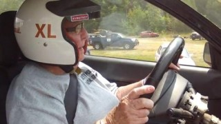 91-year-old granny tries RallyX