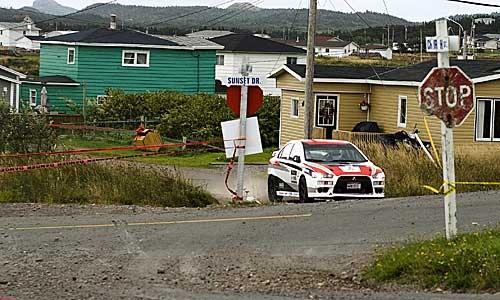 Jim Kenzie takes on Targa Newfoundland