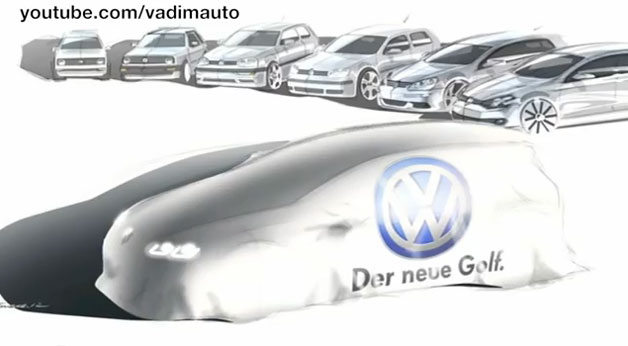 Sneak peek: MK VII Volkswagen Golf