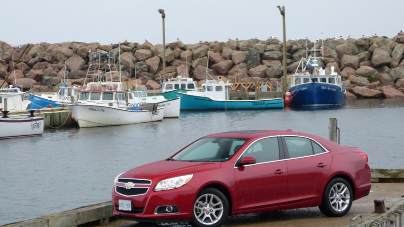 2013 Chevrolet Malibu: Bread-and-butter sedan gets kitted out