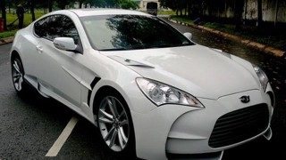 Aston Martin replica based on Hyundai Genesis