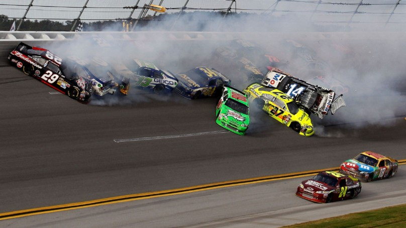 Drivers grumbling after wreckfest at Talladega