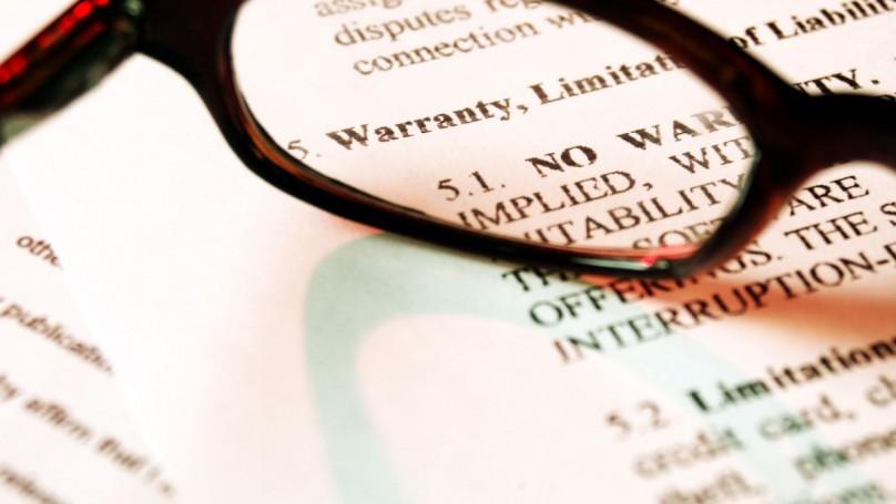 Warranties: Little homework goes a long way