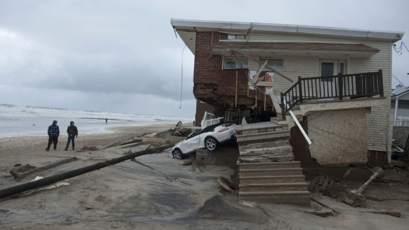 Car-nage: Superstorm Sandy leaves trail of vehicular destruction