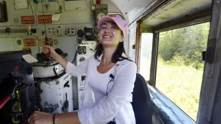 Conducting a train can be a real toot