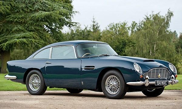 Paul McCartney's 1964 Aston Martin DB5 up for auction