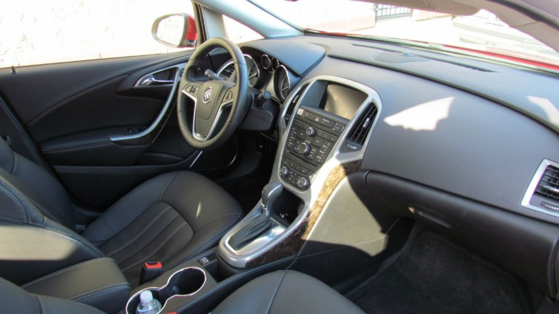 2013 Buick Verano Turbo: Smooth sedan delivers ritz for less