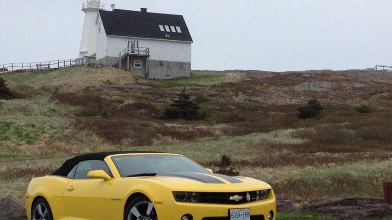 Cruising coast to coast in a Camaro