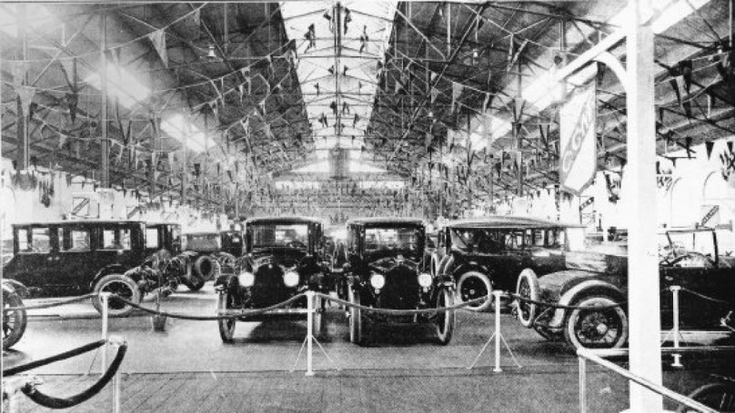 Auto show history, from horses to Hitler