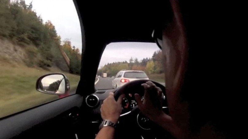 It was fun driving 240 km/h in an Audi TT, until ...