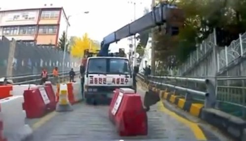 Insider Report: Driver escapes — in reverse — from a runaway truck