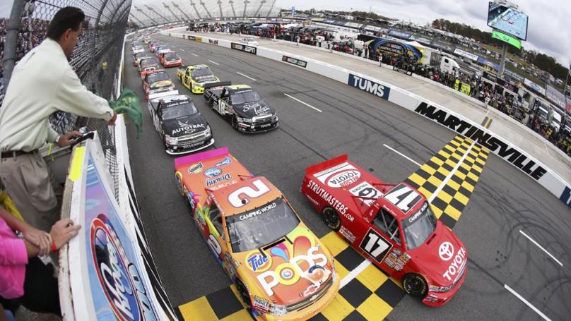 Old Mosport gets NASCAR truck race