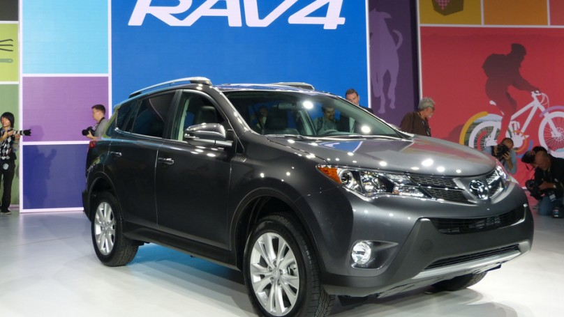 L.A. Auto Show: Toyota's RAV4 gets 'emotional' makeover
