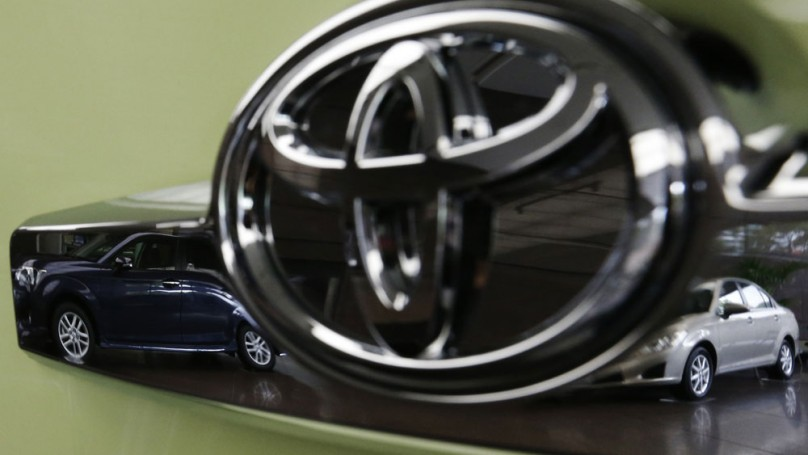 Toyota quarterly profit triples to $3.2 billion