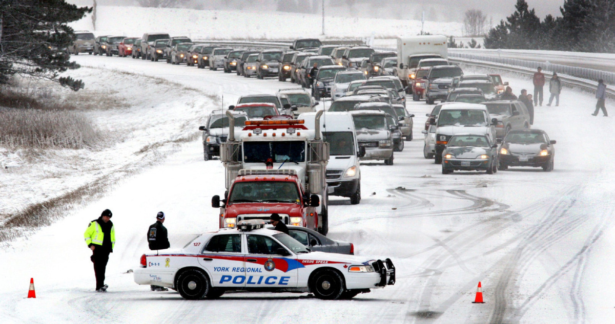 Ontario's 10 toughest winter roads