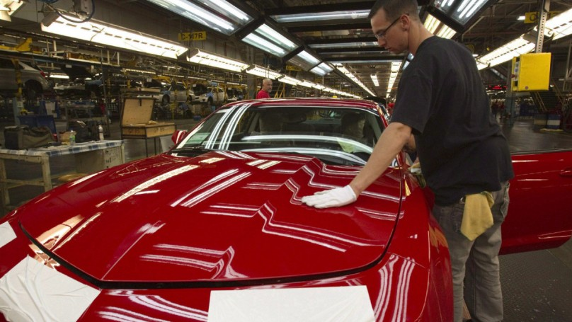 GM to shift Camaro production from Oshawa to Michigan plant