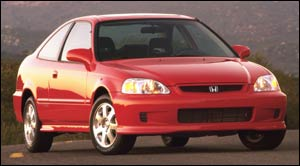 Civic tops list as Canada's most stolen car