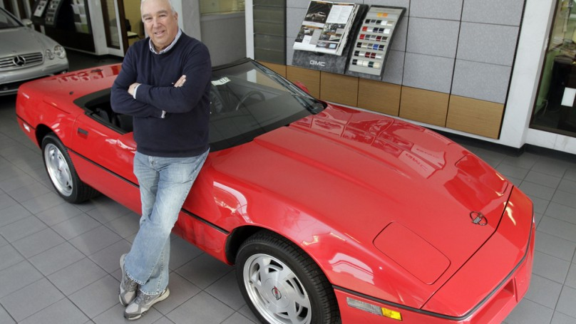 Corvette stolen in 1989 sells for original sticker price