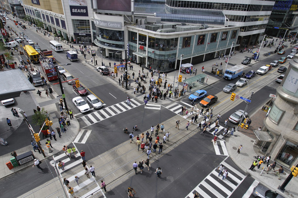 Nine pedestrians hit in 45 minutes: A big problem