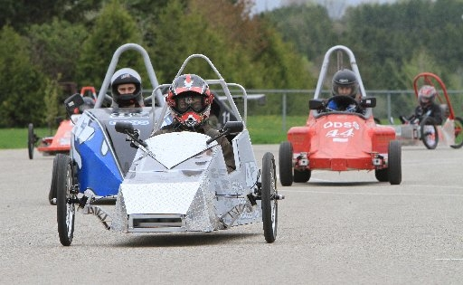 Electric cars already race in Ontario