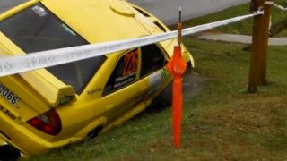 Insider Report: Rally driver overshoots corner, then stuffs it