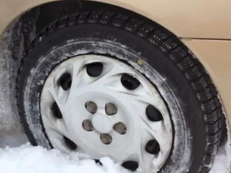 Winter tires on a beater car: What a difference it makes